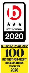 Best Companies / Sunday Times Top 100 2020 award